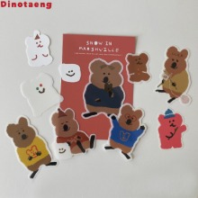 DINOTAENG Snow In Marshville Sticker Pack ver. 1 1ea