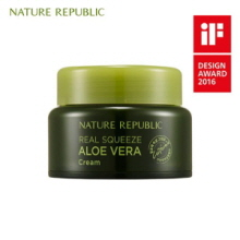 NATURE REPUBLIC Real Squeeze Aloe Vera Cream 50ml,NATURE REPUBLIC