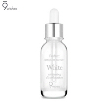 9 WISHES Perfect White Ampule Serum 25ml,9 WISHES