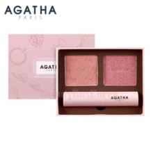 AGATHA Blanc Lady Scottie Look Book 4.5g+4.5g+3.5g,AGATHA