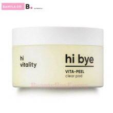 B BY BANILA  Hi Bye Vita Peel Clear Pad 85ml/40ea,B.by Banila
