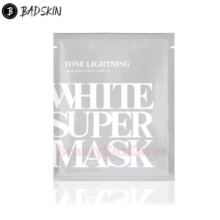 BAD SKIN Tone Brightning White Super Mask 25ml,BADSKIN