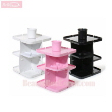 BELAHOME 360 Rotation Cosmetic Storage Shelf 1ea,BELAHOME