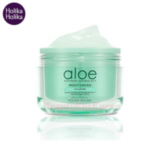 HOLIKA HOLIKA Aloe Soothing Essence 80% Moist Cream 100ml,HOLIKAHOLIKA