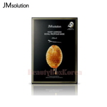 JM SOLUTION Honey Luminous Royal Propolis Mask 30ml*10ea,JM SOLUTION