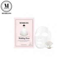MERBLISS  Wedding Dress Intense Hydration Coating Nude Seal Mask 1 sheet 25g,Own label brand