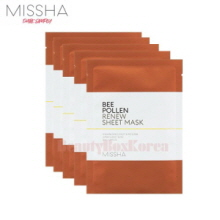 MISSHA Bee Pollen Renew Sheet Mask 25ml*10ea,MISSHA