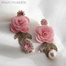 MUR'MURER Earrings 1pair,MUR'MURER
