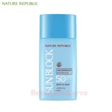 NATURE REPUBLIC California Aloe Waterproof Sun Block SPF50+ PA++++ 60ml,NATURE REPUBLIC