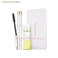 NATURE REPUBLIC Ginseng Royal Silk Mascara & Remover 6g+30ml,NATURE REPUBLIC
