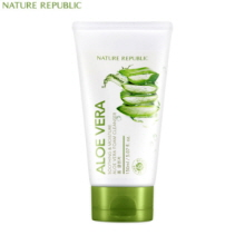 NATURE REPUBLIC Soothing & Moisture Aloe Vera Foam Cleanser 150ml,NATURE REPUBLIC