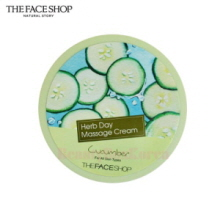 THE FACE SHOP Herb Day Massage Cream 150ml (Cucumber),THE FACE SHOP