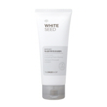THE FACE SHOP White Seed Exfoliating Foam Cleanser 150ml,THE FACE SHOP