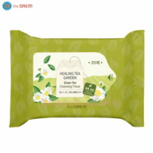 THE SAEM Healing Tea Garden Green Tea Cleansing Tissue 20ea,THE SAEM