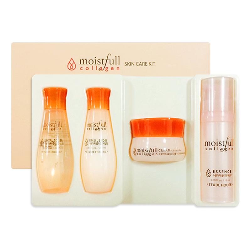 [ETUDE HOUSE] Moistfull Collagen Skin Care Kit - 4 Kinds Sample (Weight : 156g)