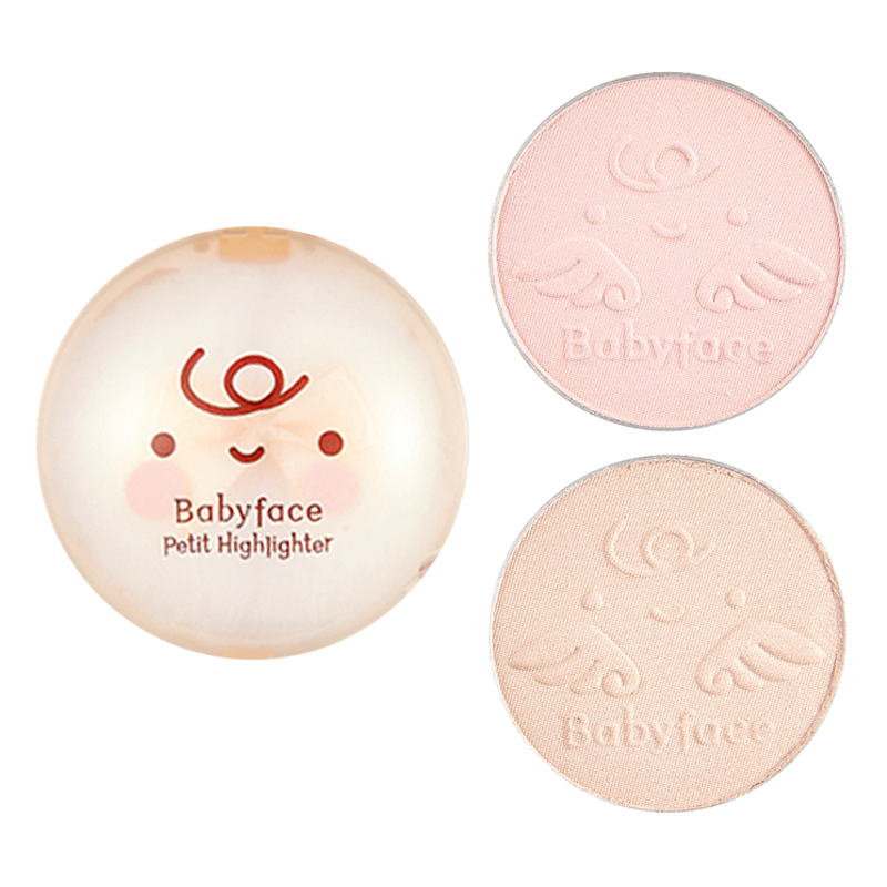 [IT'S SKIN] Babyface Petit Highlighter 2 Color 4g (Weight : 26g)