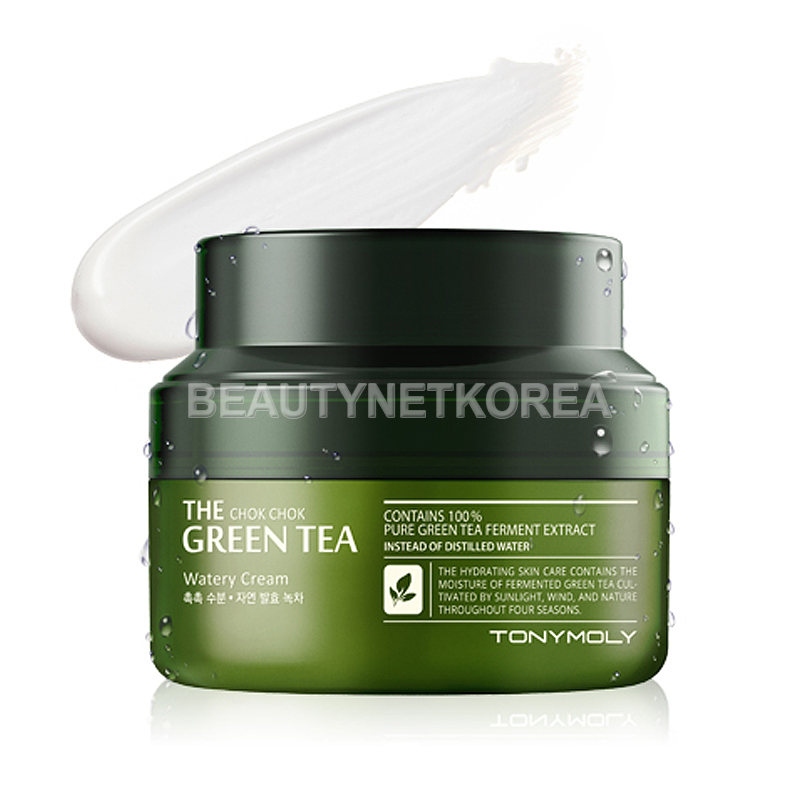 [TONYMOLY] The Chok Chok Green Tea Watery Cream 60ml  (Weight : 162g)