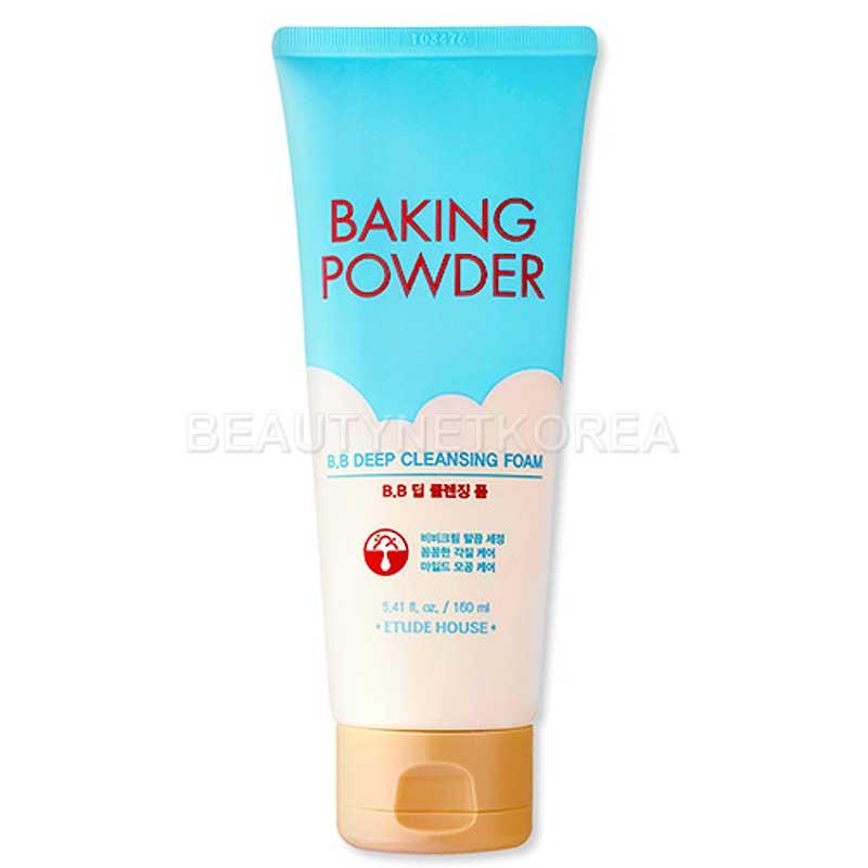 [ETUDE HOUSE] Baking Powder BB Deep Cleansing Foam 160m l (Weight : 193g)
