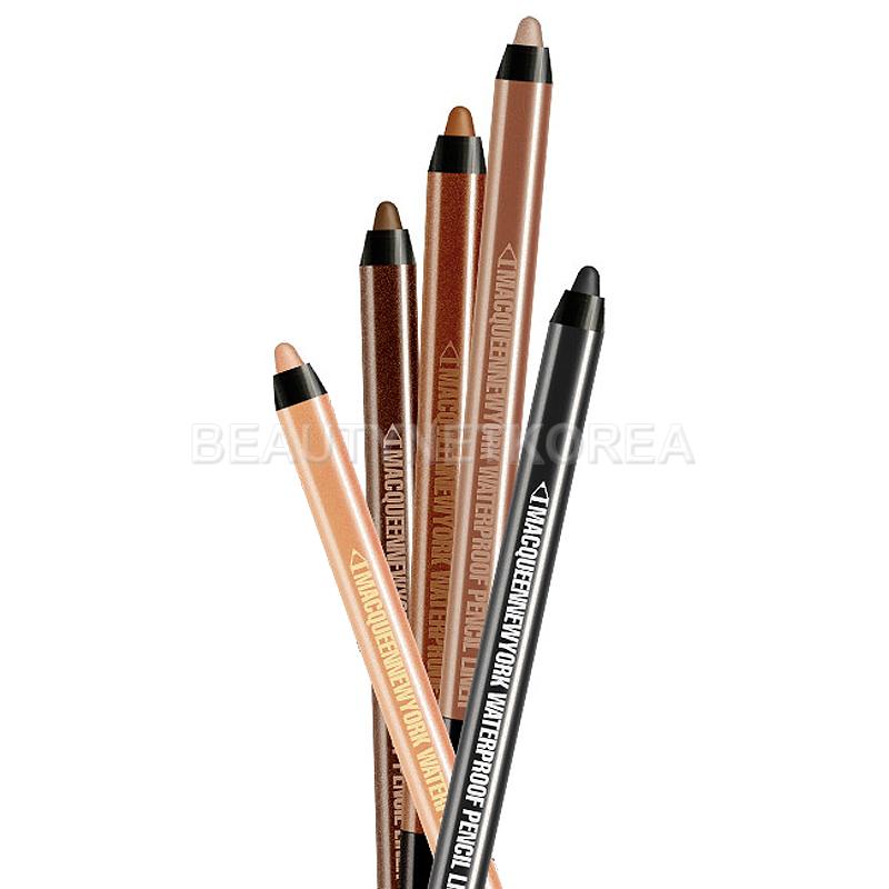 [MACQUEEN NEW YORK] Waterproof Pencil Gel Liner 1.4g 10 Color (Weight : 11g)