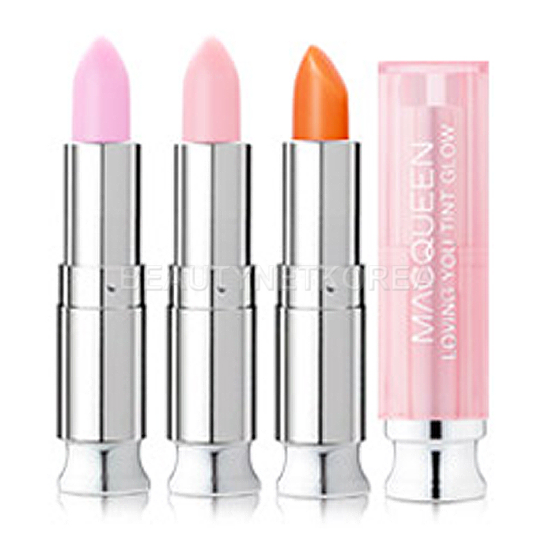[MACQUEEN NEW YORK] Loving You Tint Glow Lip Balm 3.5g 3 Color (Weight : 32g)