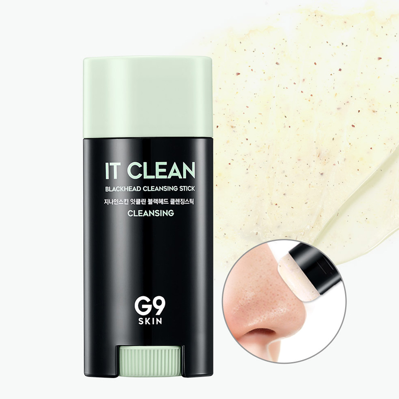 [G9SKIN] It Clean Blackhead Cleansing Stick 15g Free Shipping