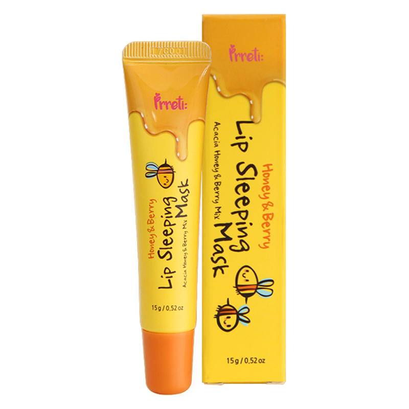 [PRRETI] Honey & Berry Lip Sleeping Mask (Tube) (Weight : 27g)