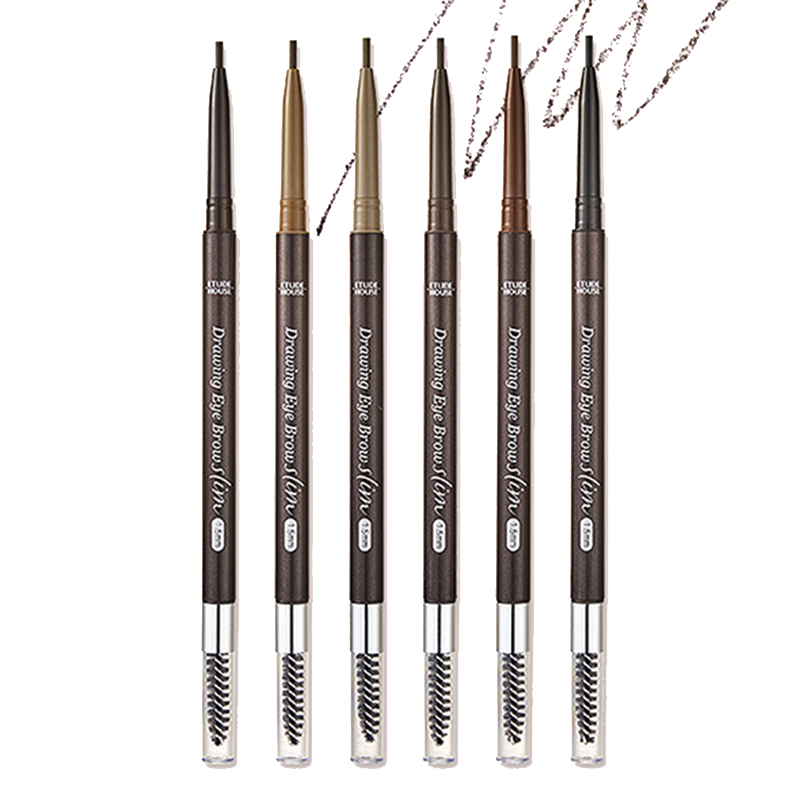 [ETUDE HOUSE] Drawing Slim Eyebrow 1.5mm 6 Color 0.05g (Weight : 12g)
