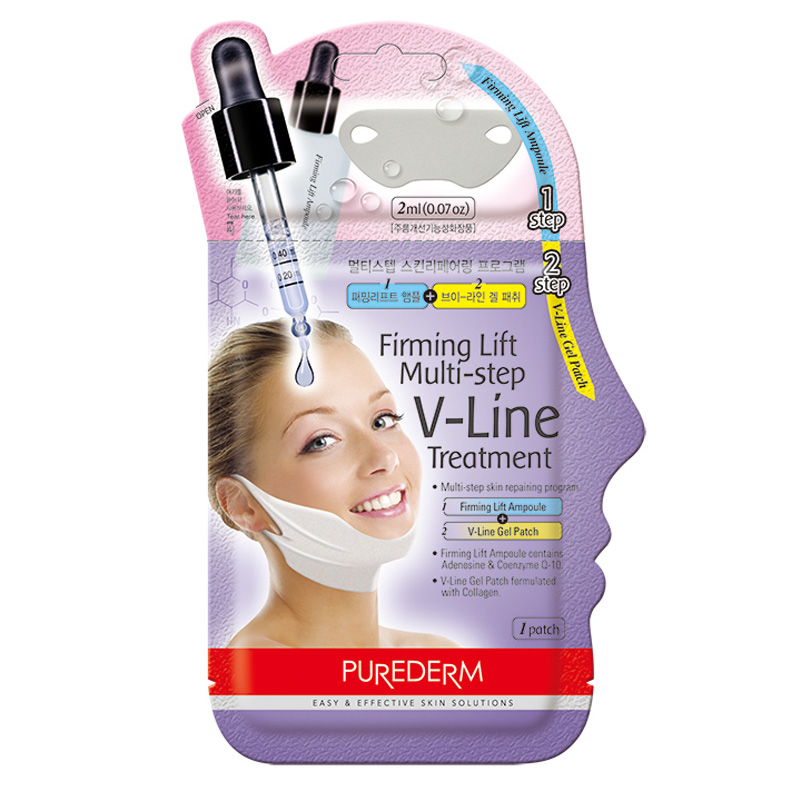 [PUREDERM] Firming Lift Multi-step V-Line Treatment 10g (Weight : 21g)