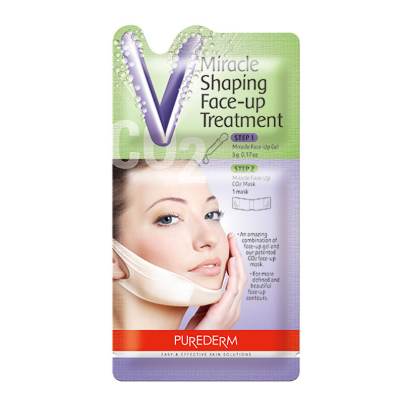 [PUREDERM] Miracle Shaping Face-up Treatment 5g (Weight : 16g)