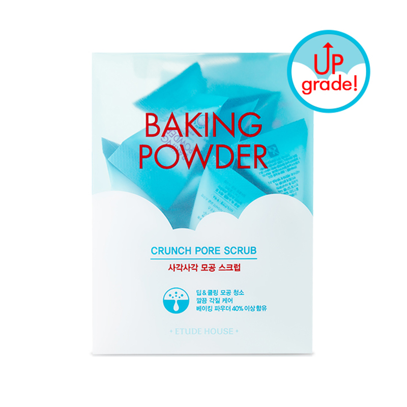 [ETUDE HOUSE] Baking Powder Crunch Pore Scrub 7g * 24ea (Weight : 218g)