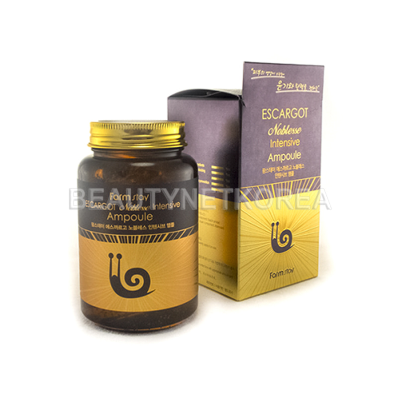 [FARM STAY] Escargot Noblesse Intensive Ampoule 250ml (Weight : 354g)