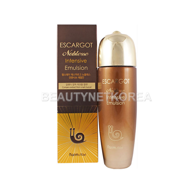 [FARM STAY] Escargot Noblesse lntensive Emulsion 150ml (Weight : 446g)