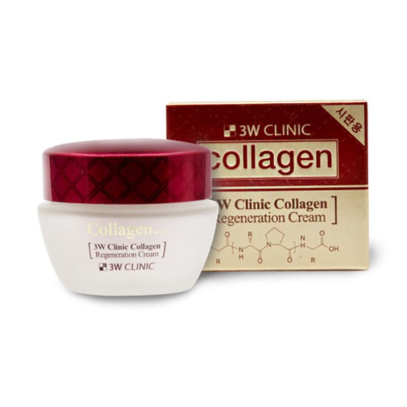 [3W CLINIC] Collagen Regeneration Cream 60ml(Weight : 205g)
