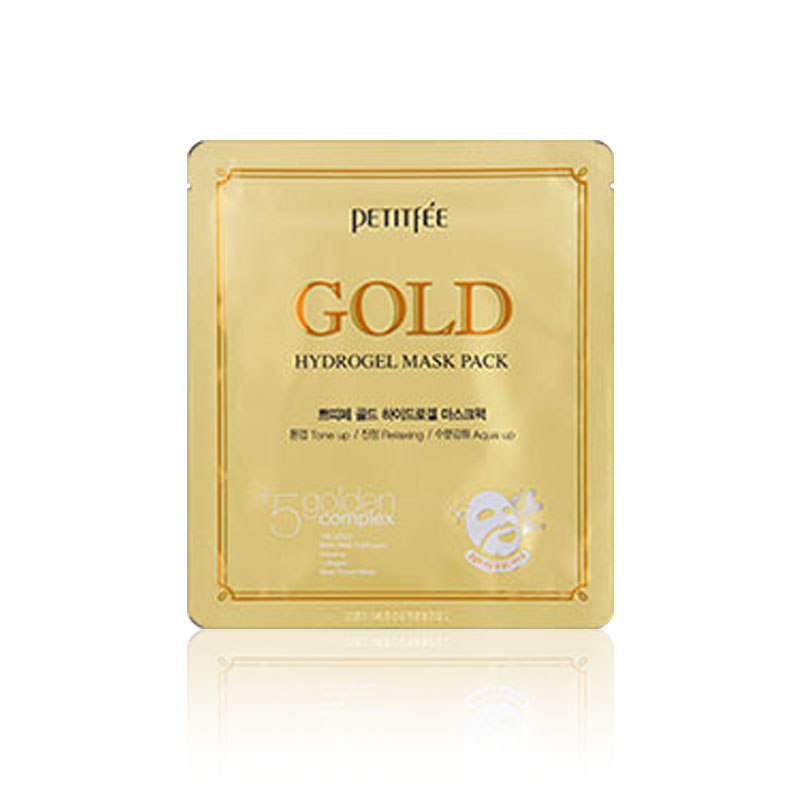 [PETITFEE] Gold Hydrogel Mask Pack 32g (Weight : 55g)