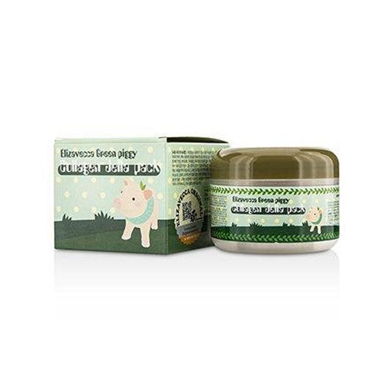 [ELIZAVECCA] Green Piggy Collagen Jella Pack 100g (Weight : 171g)