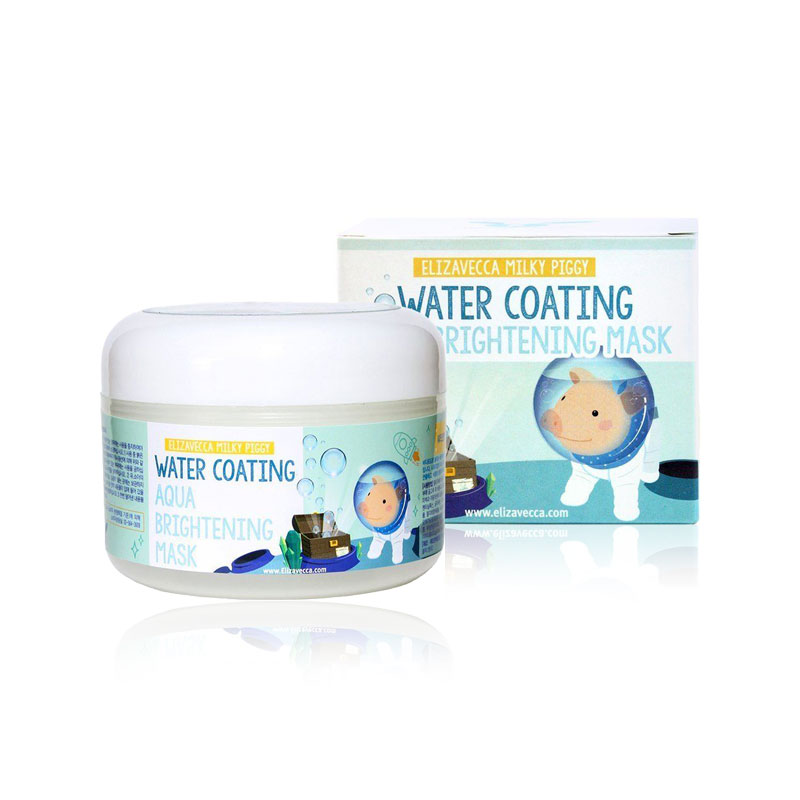 [ELIZAVECCA] Milky Piggy Water Coating Aqua Brightening Mask 100g  (Weight : 170g)