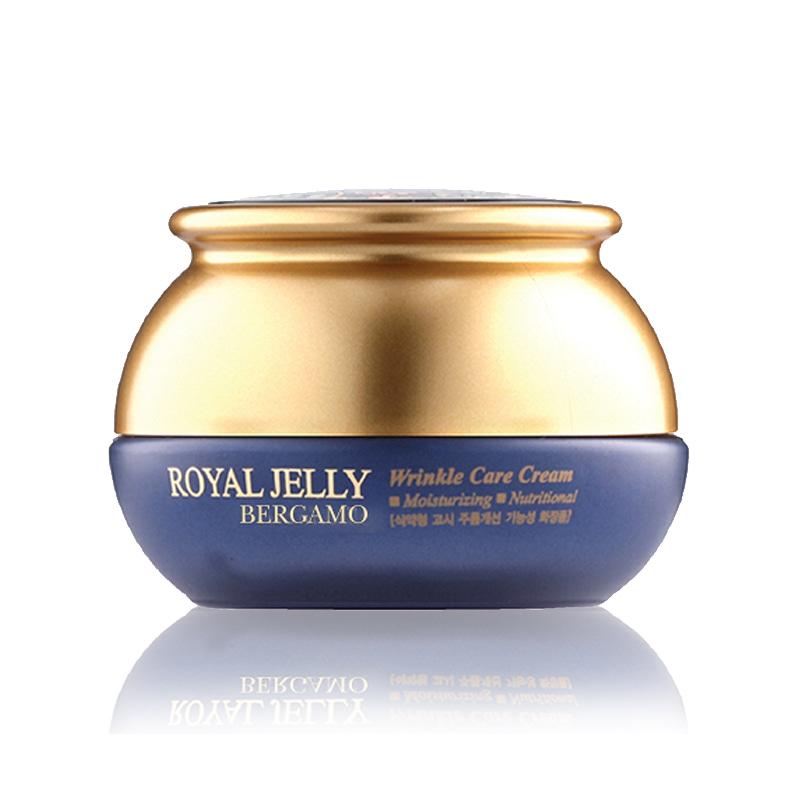 [BERGAMO] Royal Jelly Wrinkle Care Cream 50g  (Weight : 234g)