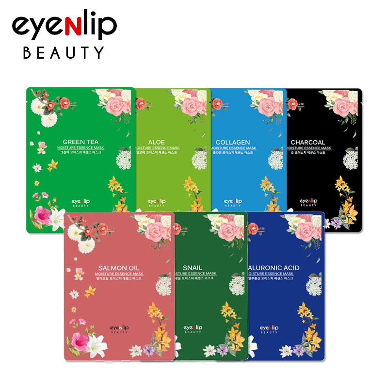 [EYENLIP] Moisture Essence Mask 7 Types 25ml [1pcs] (Weight : 33g)