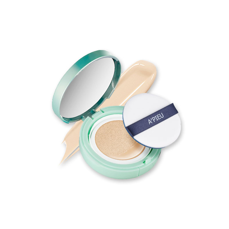 [A'PIEU] Air-Fit Cushion Pposong (SPF50+/PA+++) 14g 2 Color (Weight : 90g)