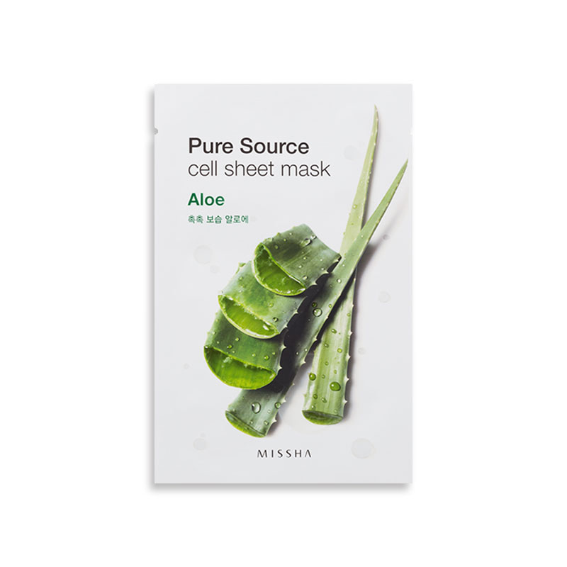 [MISSHA] Pure Source Cell Sheet Mask 21g [Promotion Item] (Weight : 29g)