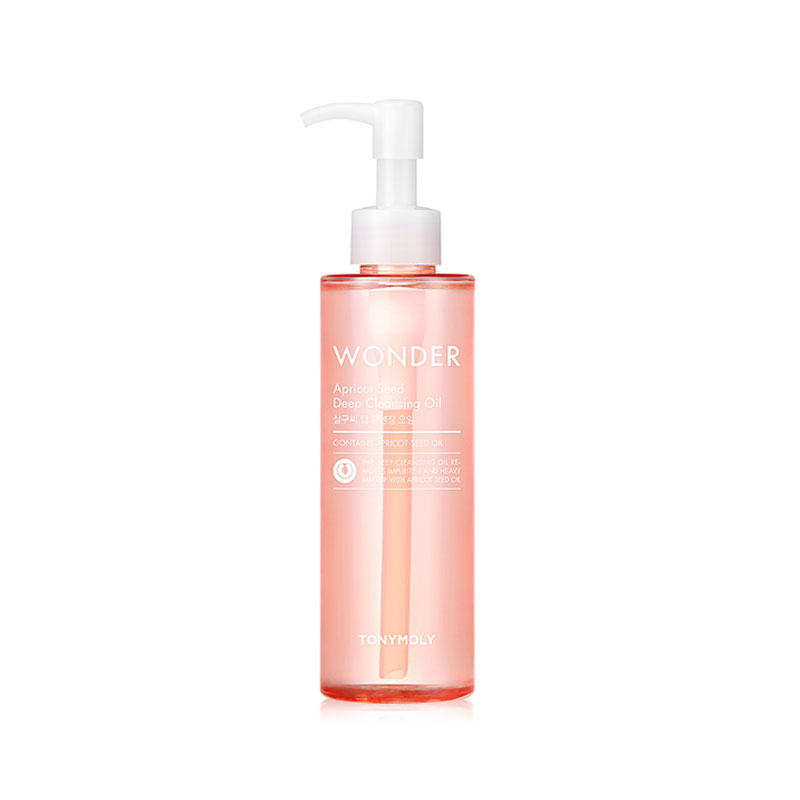 [TONYMOLY] Wonder Apricot Seed Deep Cleansing Oil 190ml (Weight : 237g)