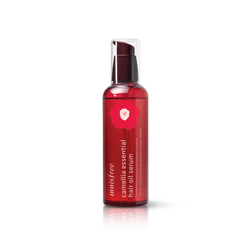 [INNISFREE] Camellia Essential Hair Oil Serum 100ml (Weight : 174g)