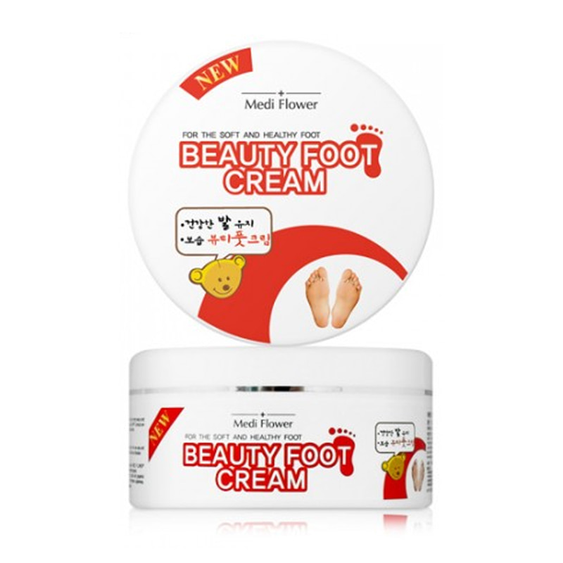 [MEDI FLOWER] Beauty Foot Cream 150g (Weight : 224g)