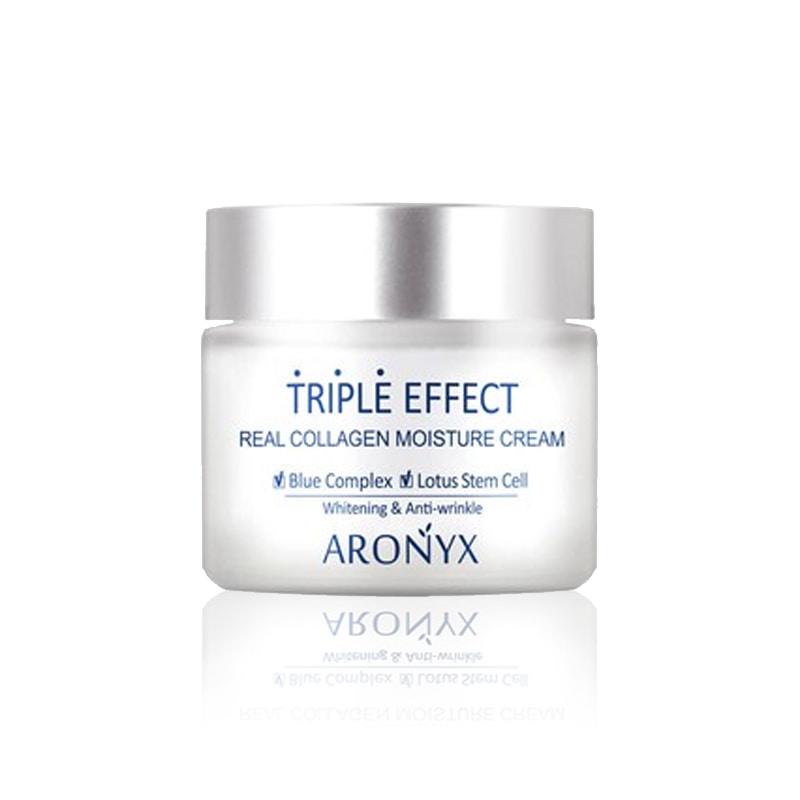 [MEDI FLOWER] Aronyx Triple Effect Real Collagen Moisture Cream 50ml (Weight : 162g)