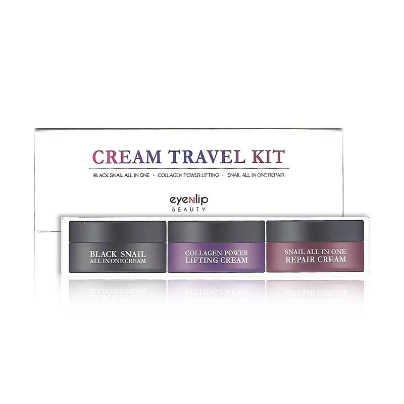 [EYENLIP] Cream Travel Kit (15ml * 3pcs) (Weight : 111g)