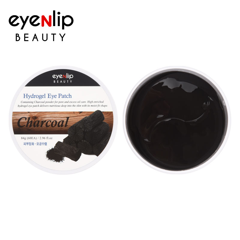 [EYENLIP] Hydrogel Eye Patch 84g #Charcoal(1.4g * 60ea) (Weight : 170g)