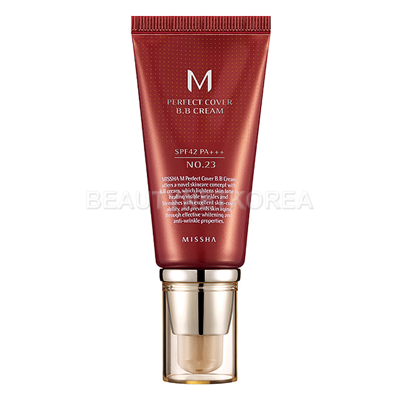[MISSHA] M Perfect Cover BB Cream (SPF42/PA+++) 4 Color 50ml (Weight : 95g)