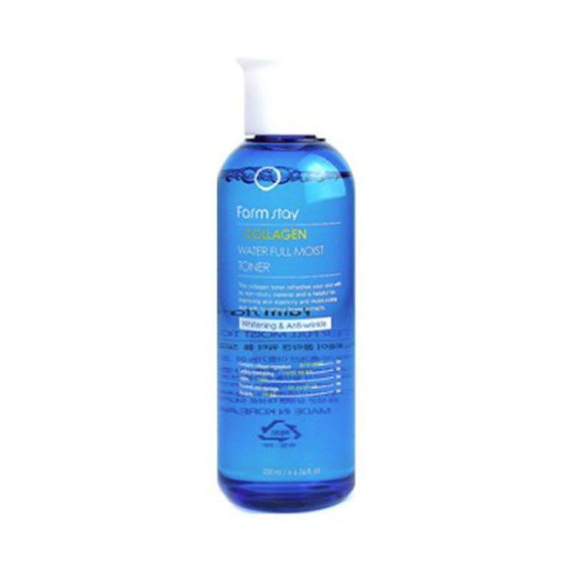 [FARM STAY] Collagen Water Full Moist Toner 200ml (Weight : 278g)