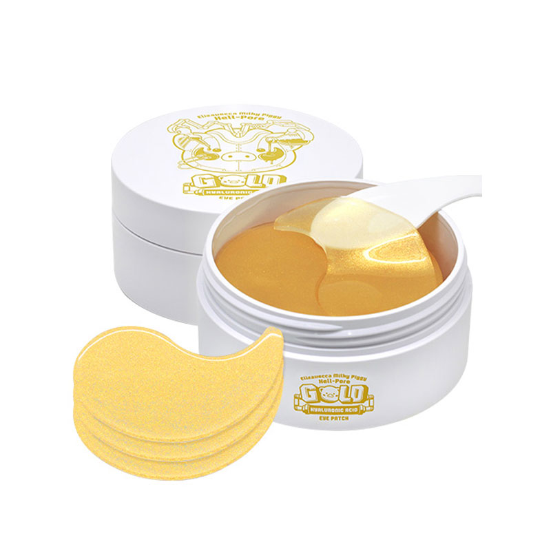 [ELIZAVECCA] Hell-Pore Gold Hyaluronic Acid Eye Patch 90g (60ea) (Weight : 202g)