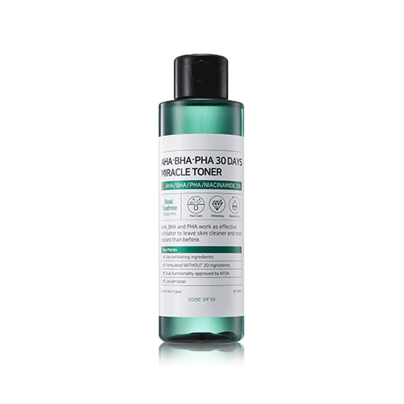 [SOME BY MI] AHA,BHA,PHA 30 Days Miracle Toner 150ml (Weight : 210g)